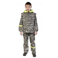 Детский костюм Биостоп для младшей школьной группы (зеленый камуфляж)